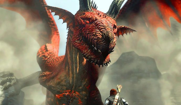 Dragon's Dogma: Dark Arisen Gregory le Dragon. Ne rigole pas, c'est vraiment son nom