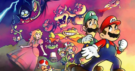 Mario & Luigi : Superstar Saga + Les sbires de Bowser artwork