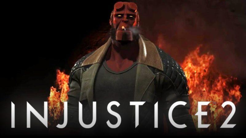 Injustice 2 Hellboy est annoncé