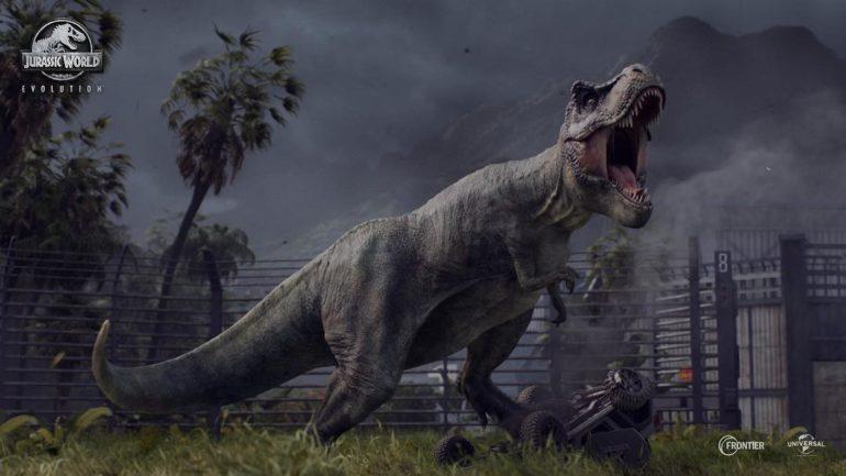 Jurassic Park Evolution T-rex