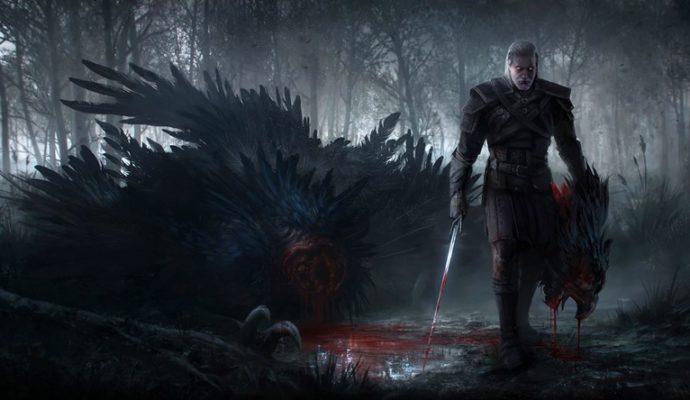 The Witcher 3 wild hunt artwork sorceleur géralt