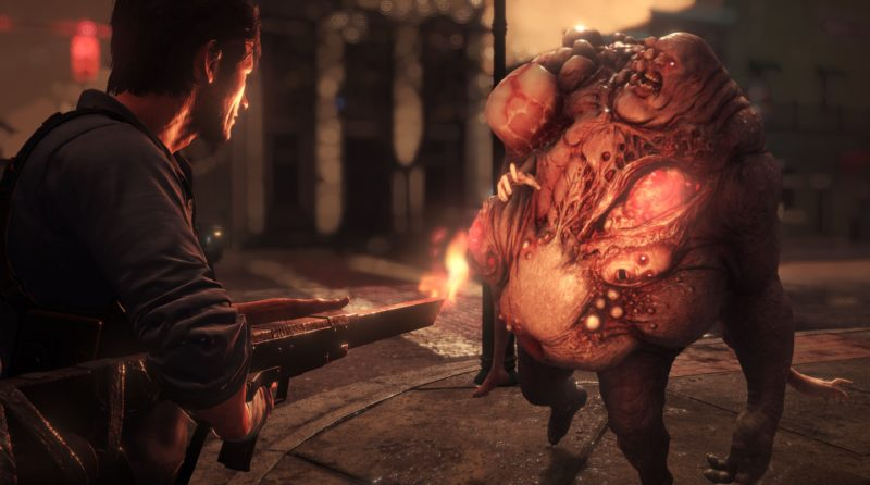 the Evil Within 2 explosif