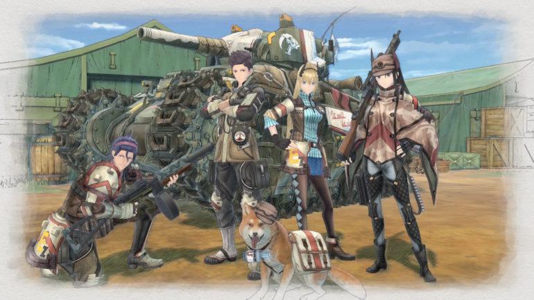 Valkyria Chronicles 4 Escadron E