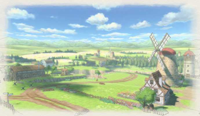 Valkyria Chronicles 4 paysages