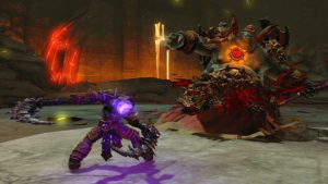 PlayStation Plus Darksiders 2 Deathinitive Edition combat