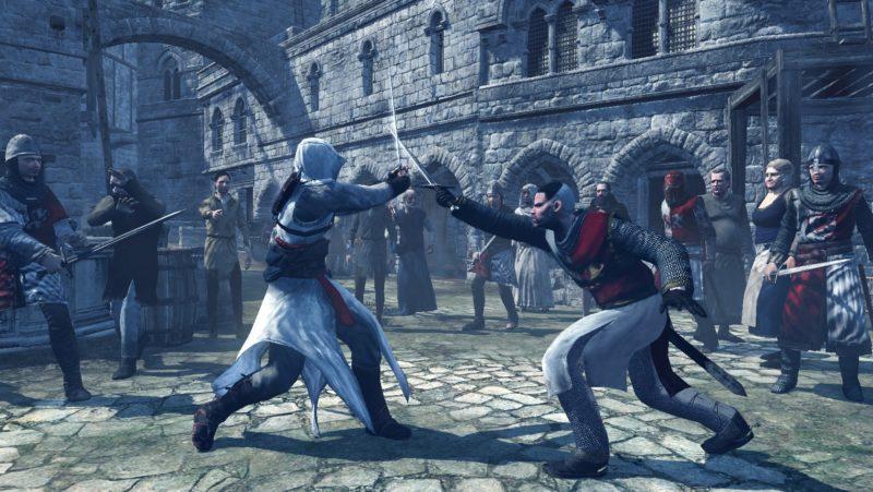 Altaïr VS L'homme chauve
