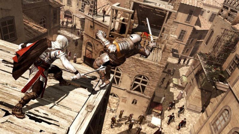 Ezio bouscule ses camarades