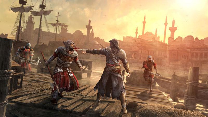 Ezio vérifie le rythme cardiaque d'un ami