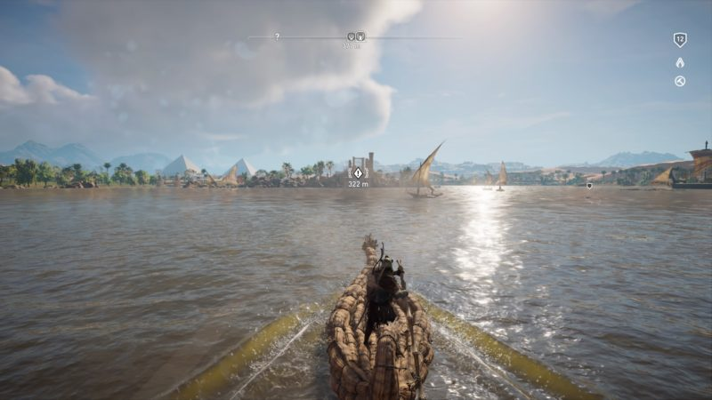 Assassin's Creed Origins - Bateau