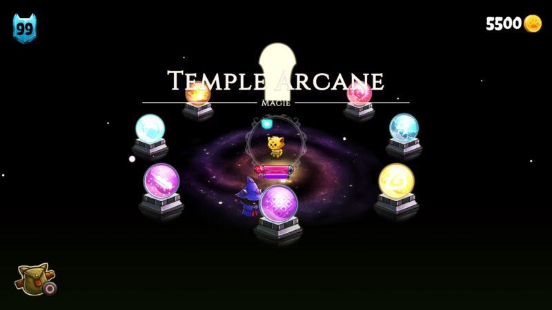 Cat Quest Temple Arcane