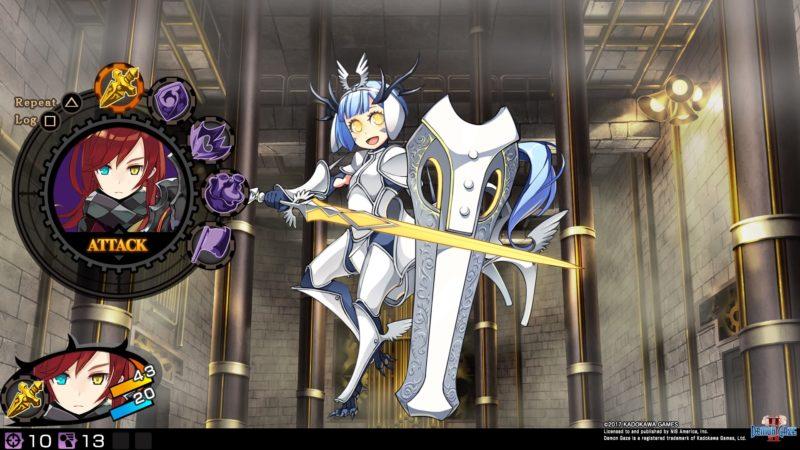 Demon Gaze II Pegasus fantasy