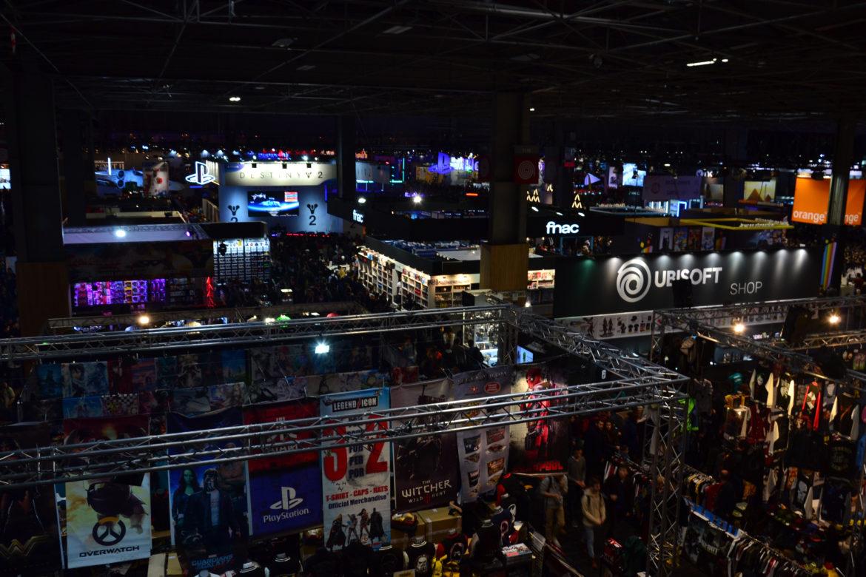 Paris Games Week 2017 vue d'ensemble