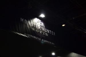 Paris Games Week 2017 Stand Monster Hunter World
