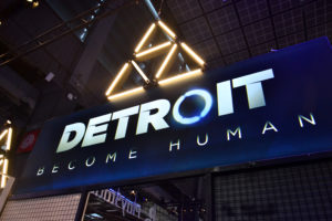 Paris Games Week 2017 Stand Detroit Become Human