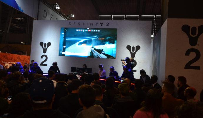 Paris Games Week 2017 Destiny 2