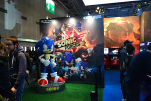 Paris Games Week 2017 Sonic Forces stand
