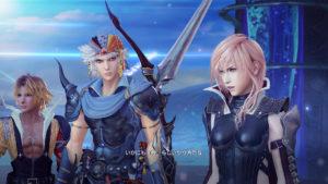 Dissidia: Final Fantasy NT Lightning et Tidus