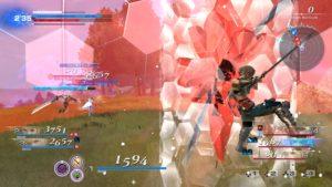 Dissidia: Final Fantasy NT peut aussi la faire briller en rouge