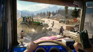 Far Cry 5 phase de conduite