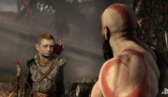 God of War 4 Kratos et Atreus
