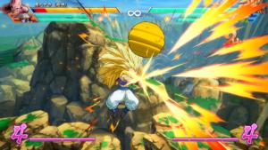 Dragon Ball FighterZ gotenks spécial
