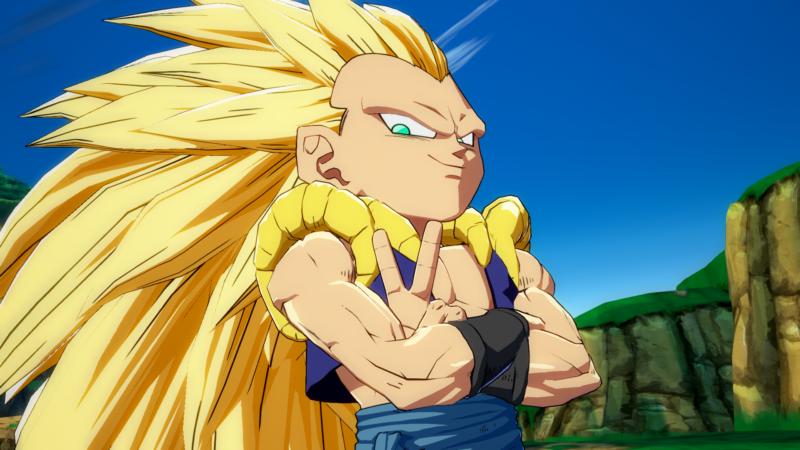 Dragon Ball FighterZ Gotenks
