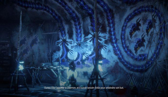 Horizon Zero Dawn: The Frozen Wilds - Daemon peintures