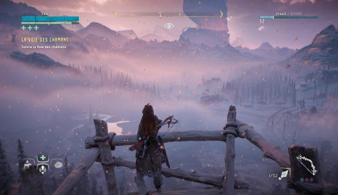 Horizon Zero Dawn: The Frozen Wilds - paysage