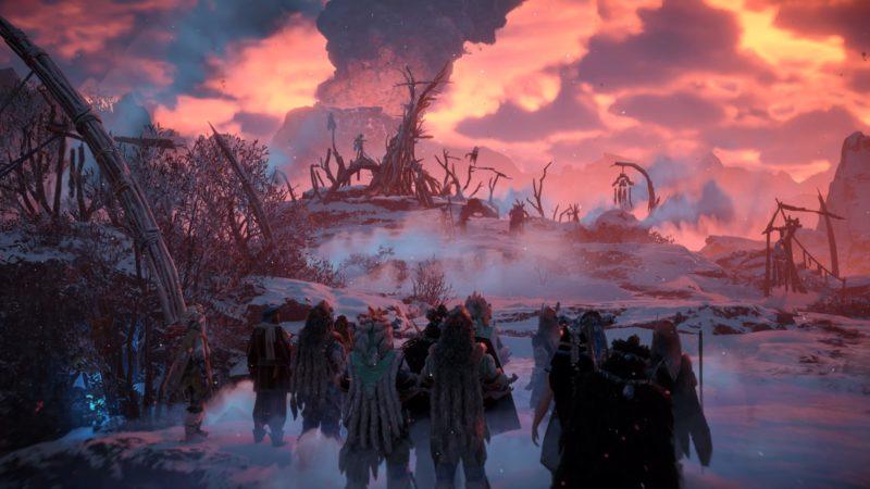 Horizon Zero Dawn The Frozen Wilds - Rassemblement