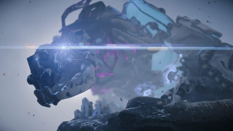 Horizon Zero Dawn: The Frozen Wilds - bestiole