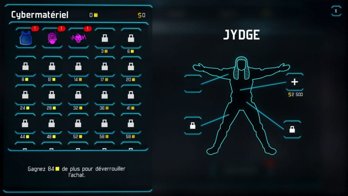 Jydge customisation