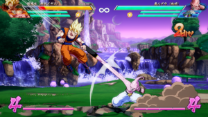 Dragon Ball FighterZ combat kid boo