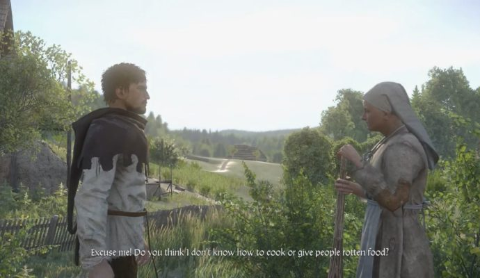 Kingdom Come Deliverance dialogue