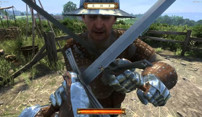 Kingdom Come Deliverance combat
