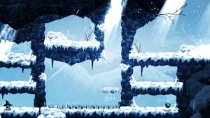 MagiBot environnement glace