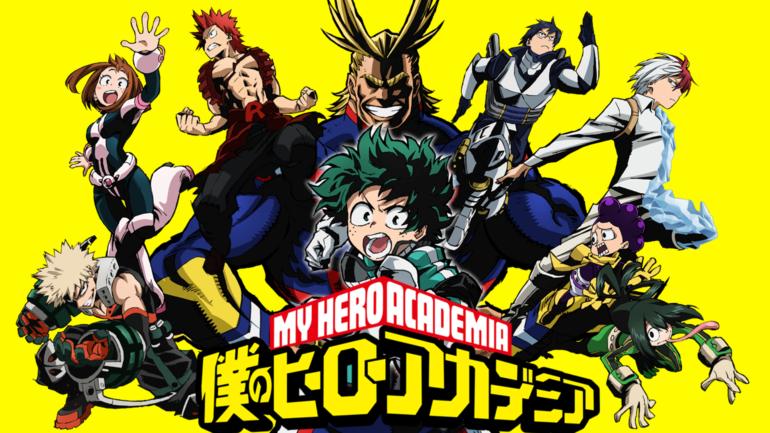 My Hero Academia titre
