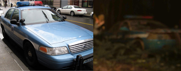 The Last of Us 2 voiture