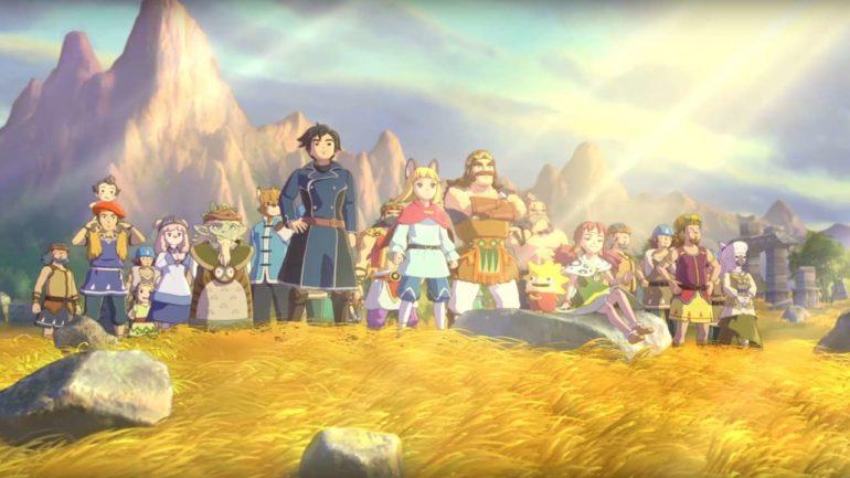 Ni no Kuni II : l'Avènement d'un Nouveau Royaume Evan et ses potes