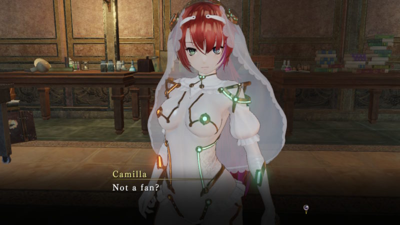 Nights of Azure 2: Bride of the New Moon - Tenue de mariée