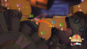 PS Plus Worms Battleground