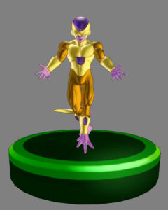Dragon Ball Xenoverse 2 gold freezer