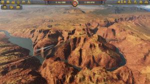 Railway Empire pont et paysage