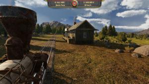 Railway Empire vue première personne ranch