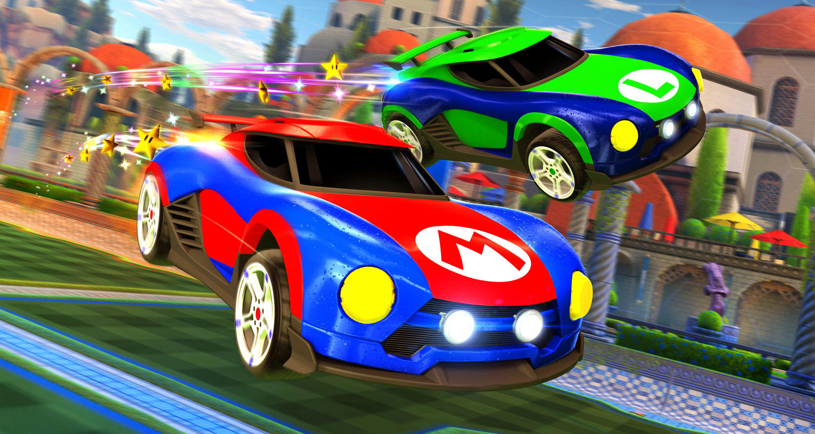 Rocket League - Mario & Luigi Skin