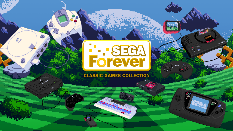 SEGA Forever consoles