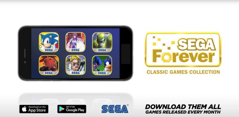 SEGA Forever mobile