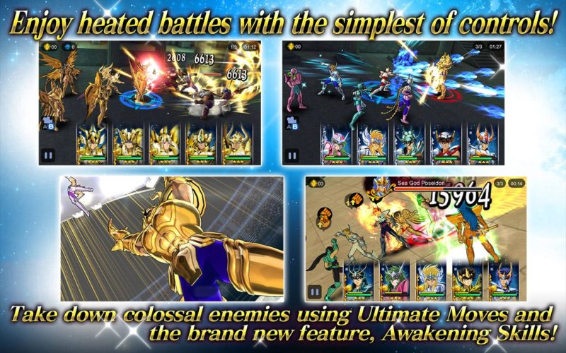 Saint Seiya: Cosmo Fantasy gameplay