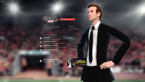 Football Manager 2018 - menu