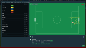 Football Manager 2018 - analyse match