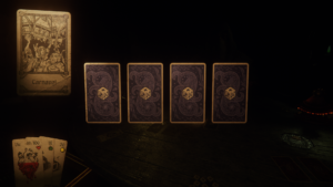 Hand of Fate 2 - cartes tirage